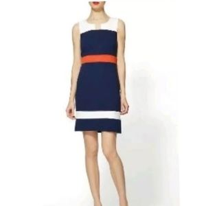 41 Hawthorn Sloan Color Block Shift Dress Medium